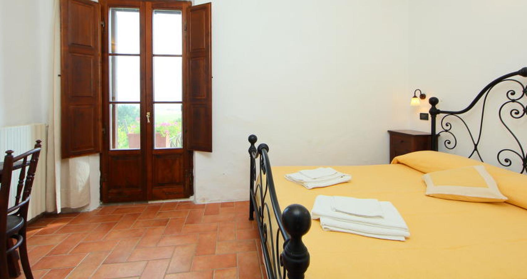 Camere Podere San Giuseppe Radicofani Agriturismo Siena