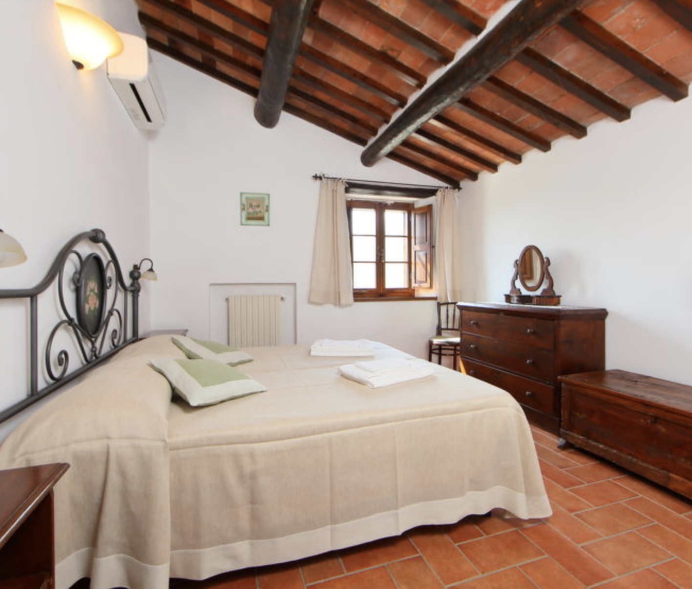 Camere Podere San Giuseppe Radicofani Siena
